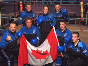 The Prokick team before the trip to Ottawa Canada